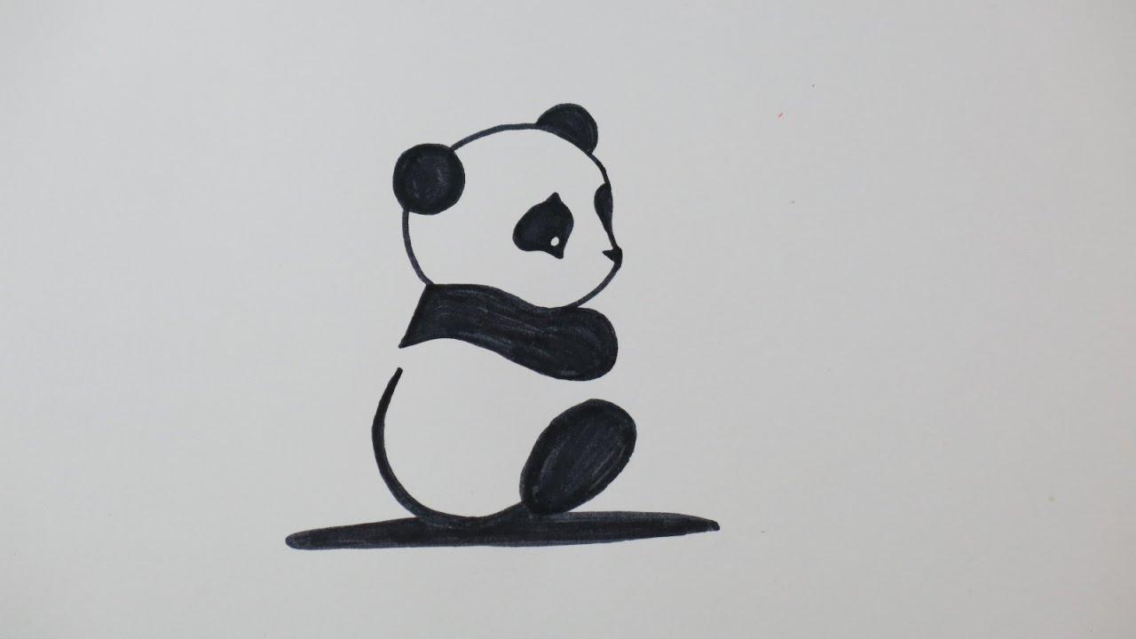 Diy Drawing A Cute Panda Fun Drawings For Kids Kids Wow Channel